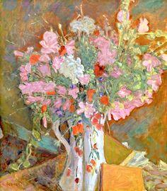 Wild Flowers, 1919 (oil on canvas), Bonnard, Pierre (1867-1947)