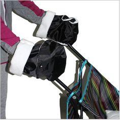 Baby Buggy stroller mother's hand warm gloves  two loadedwarm pram gloves winter waterproof anti-freezebaby Stroller Accessories