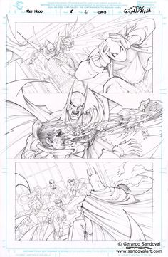 RED HOOD #16 PAGE 21 by Gerardo Sandoval