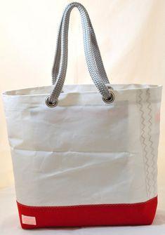 3c6a3da2cb3e Sail Bag - Upcycled Sailcloth Tote Bag - Shoulder Bag in recycled sail -