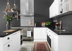 MONOCHROME KITCHEN Archives - Ucan Archive - Ucan Diy Kitchen Cupboards, Kitchen Ideas, Monochrome, Kitchen Design, Kitchens, Archive, House, Home Decor, Decoration Home