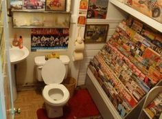 Man's bathroom - Funny pictures - Funky