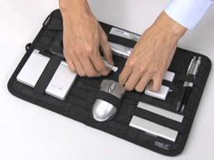 Cocoon's Grid-It - Cool way to keep your stuff organized and make it easy to move from bag to bag as needed.