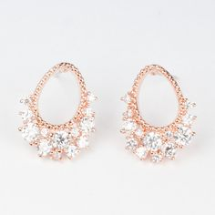 My design inspiration: Mirror Earrings Rose Gold on Fab.