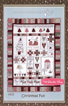 Christmas Fun Quilt Pattern Lynette Anderson Designs