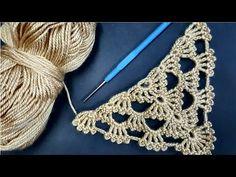 Shawl Patterns, Baby Knitting Patterns, Lace Patterns, Crochet Patterns, Crochet Quilt, Crochet Shawl, Crochet Stitches, Crochet Scarves, Crochet Clothes
