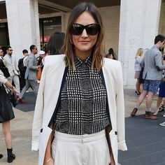 Street style fashion week nyc S/S 2015