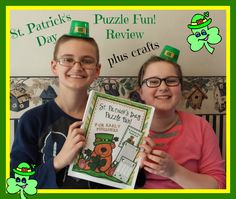 St Patrick's Day Puzzle Fun Review by Book Wishes
