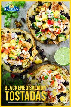 Blackened Salmon Tos