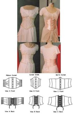 Victorian Underbust Corsets Pattern for Women and Men by Laughing Moon Mercantile, http://www.amazon.com/dp/B0015PJ5LO/ref=cm_sw_r_pi_dp_3Jzirb0NZFKMG