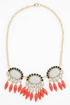 Missing Piece | Crystal Statement Necklace | Nordstrom Rack