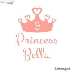 [ Silhouette Wall Stickers Personalised Princess Crown Sticker Castle And Unicorns ] - Best Free Home Design Idea & Inspiration Window Stickers, Window Decals, Santa Snow Globe, Personalised Wall Stickers, Fairy Princesses, All Wall, Bedroom Themes, Paint Finishes, Transfer Paper