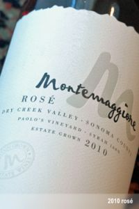 Montemaggiore 2010 Rose of Syrah- A Summertime Classic! ($25, B+)