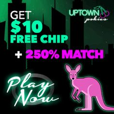 Claim Uptown Pokies No Deposit Casino Bonuses With Our Exclusive Bonus Codes & Coupon Rewards. Read Honest Reviews From Actual Players At PlaySlots4RealMoney.com. Bitcoin Accepted.