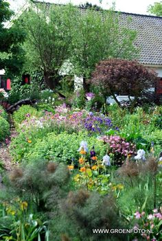 """lushness of Summer gardens...hope I can achieve this """"lush"""" look in AR!"""