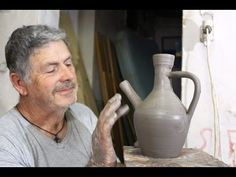 Pottery throwing - How to Making a Clay Colander #32 - YouTube