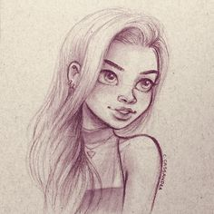 sketch by Cassandra Calin Cassandra Calin, How To Draw Anime Eyes, Doodle Sketch, Pictures To Draw, Female Characters, Amazing Art, Art For Kids, Art Drawings, Character Design