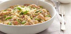 Risotto au poulet et aux asperges au thermomix  un délicieux plat de riz au poulet pour votre dîner, vous y trouvez ici la recette la plus facile pour le préparer chez vous avec votre thermomix. une recette facile et pour toute la famille, testez-la.