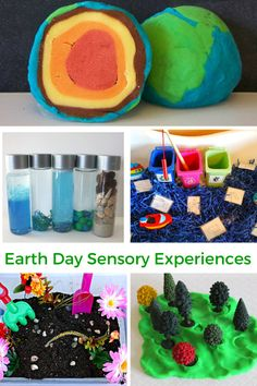 Earth Day Sensory Experiences for Kids