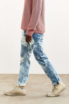 Bleached Stonewash Levis 511 Slim Jean - Urban Outfitters