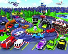 UK Walltastic Children's Wallpaper Mural Car Racers by Walltastic Ltd.. $69.99. An Affordable Easy and Cost Effective Way of Decorating Children's Room.. Ranging Tots to Teens Each Theme Are of The Highest Quality with Eye Catching Feature From Kid's Point of View.. Easy To Put Up and Take Off in 12 Simple Steps Can Easily Do It At Home With Your Kids.. The New Generation of Designer Wallpaper with High Detailed Unique Computer Generated Pictures for Children made in UK.. The ...