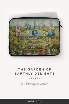 """""""The Garden of Earthly Delights"""" by Hieronymus Bosch Garden Of Earthly Delights, Hieronymus Bosch, 7 And 7, Back To Black, Laptop Sleeves, Notebook Covers"""