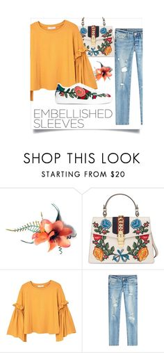 """""""Untitled #452"""" by msb-11111 ❤ liked on Polyvore featuring Gucci, MANGO and True Religion"""