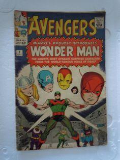 THE AVENGERS introducing WONDER MAN