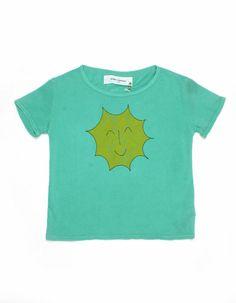 Green sunshint T-shirt - Bobo choses
