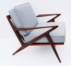 Solid Teak Z Chair — Fixed price $695
