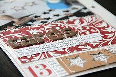natuerlichkreativ: December Daily 2011- love the punched stars
