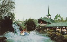 What ride and what part of Disneyland? That looks like the Matterhorn que. Was this there before the Matterhorn? Disneyland California, Vintage Disneyland, Disneyland History, Disneyland Rides, Disney Love, Disney Magic, Disney Theme, Disney Disney, Disney Stuff