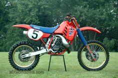 Ricky Johnson Honda RC 1986