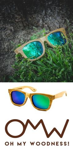 Oh My Woodness! Sunglasses: Together with @EdenProjects we plant for each pair we sell one tree!