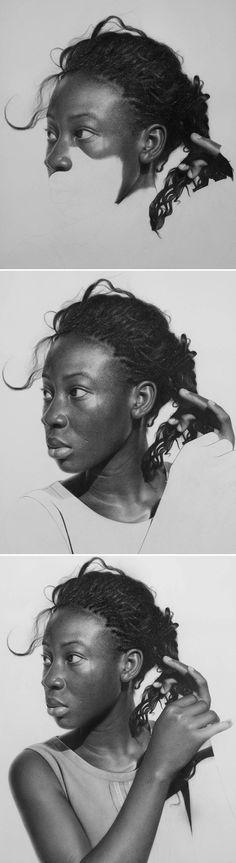 O jovem Arinze Stanley, artista baseado na Nigéria, levou a pintura hiper-realista para outro nível. Com apenas um lápis, ele é capaz de fazer retratos realmente capazes de confundir o telespectador. Arinze conta que leva em média 100 horas para terminar um trabalho, e o resultado justifica, já que as imagens são riquíssimas em detalhes. E...