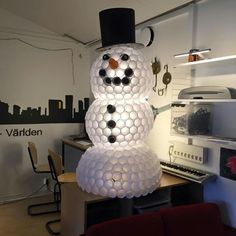 Snögubbe ⛄ Table Lamp, Lighting, Home Decor, Table Lamps, Decoration Home, Room Decor, Lights, Home Interior Design, Lightning