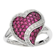 Sterling silver girls ring with semiprecious stones.