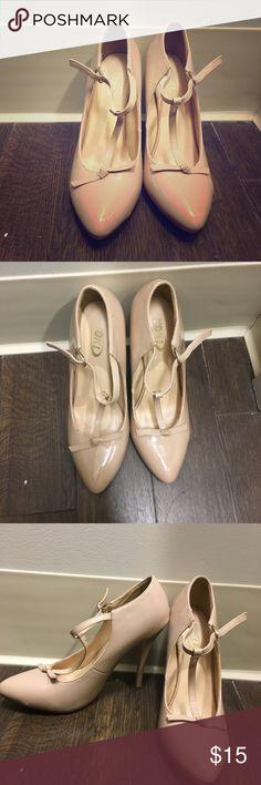 Nude heels Cute nude heels Shoes Heels