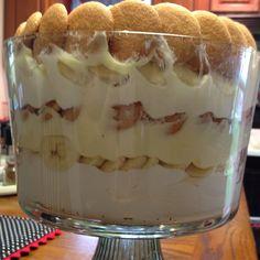 Easter desert. Paula Deen White Chocolate Banana Pudding