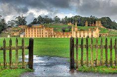 Port Arthur Penitentiary, Tasmania, Australia. Photo by Andrew Braithwaite
