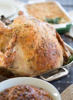 Garlic and Herb Mayonnaise Roasted Turkey
