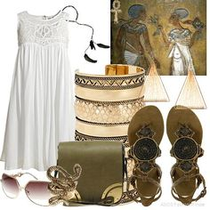Nefertiti is in IBIZA! | Women's Outfit | ASOS Fashion Finder