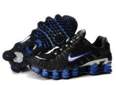 finest selection 10341 9c259 Shop Men s Nike Shox TL Shoes Black Blue Silver Super Deals black, grey,  blue and more.