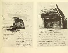 Andrew Wyeth: dry brush and pencil drawings;
