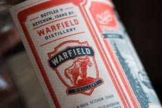 WARFIELD DISTILLERY & BREWERY on Behance