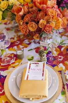 A Colorful & Preppy Lily Pulitzer Inspired Fête