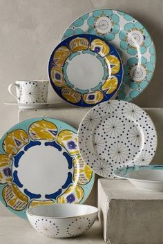 Anthropologie Forbury Dinnerware #anthroregistry