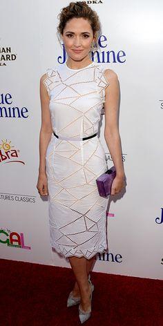 Summer Dresses.. Rose Byrne in Christopher Kane