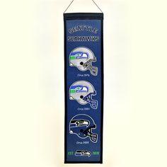 Heritage Seattle Seahawks Banner