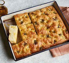 Focaccia Bbc Good Food Recipes, Bread Recipes, Cooking Recipes, Bbc Recipes, Vegan Recipes, Savoury Recipes, Recipes Dinner, Sweet Recipes, Homemade Crumpets